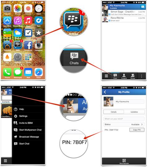 how to start a chat on iphone how to set up and start using bbm for iphone imore