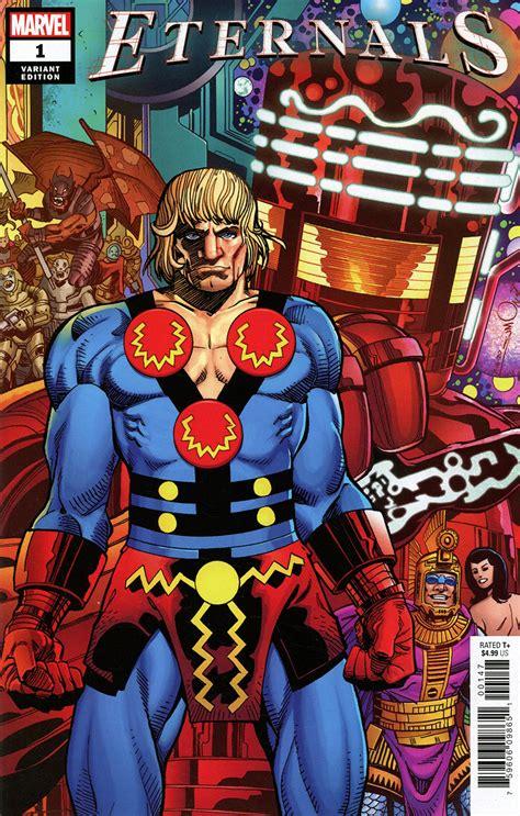 Eternals Vol 5 #1 Cover V Variant Walter Simonson Cover