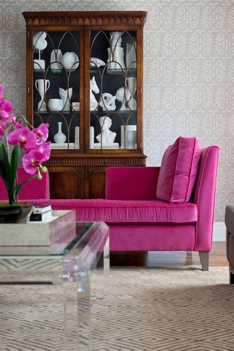 pink velvet settee 135 best images about pink home decor on