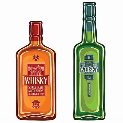 Whisky Scotch Whiskey Bottle Vector Bottles Clipart