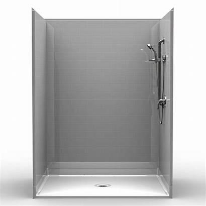 Shower Ada Roll Tile Piece Subway Barrier