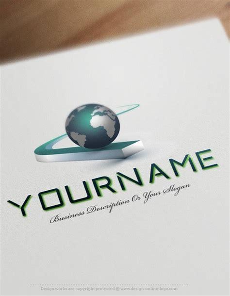 exclusive design buy globe path logo  business card
