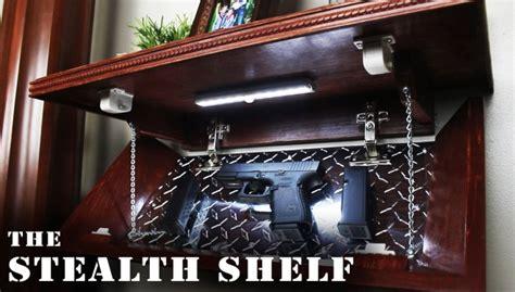 diy weapon concealment shelf  firearm blogthe firearm
