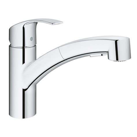 grohe eurosmart single handle pull out sprayer kitchen