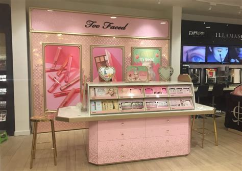 TOO FACED SHOP IN SHOP   Design4Retail
