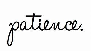 Embracing Patience | Drawing From the Well