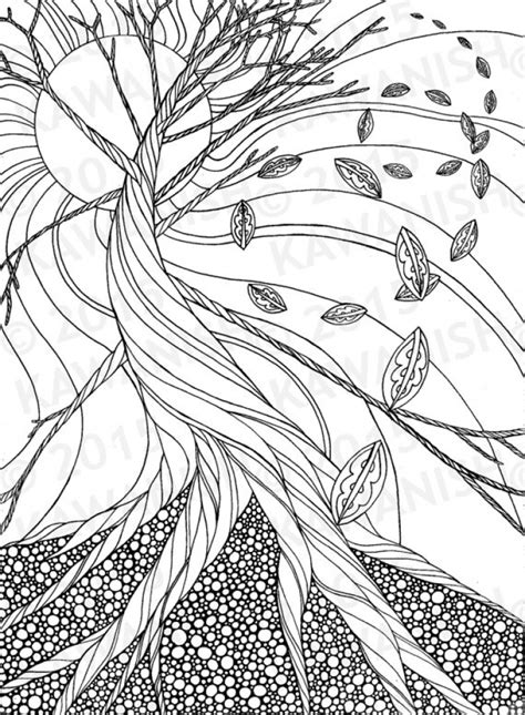 fall coloring pages  grown ups  printable prtc