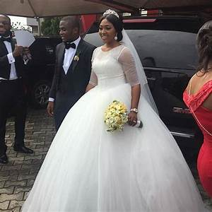 14 Beautiful Nigerian Celebrity Wedding Dresses Of 2015 Woman NG
