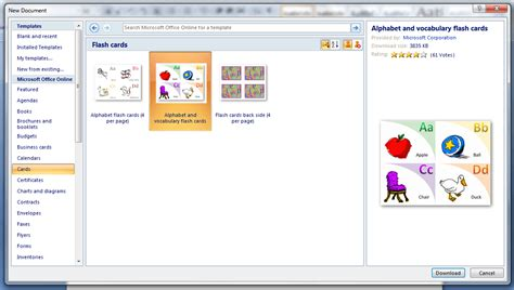 How To Create A Template In Word by How To Create Flashcards In Microsoft Word Tip Reviews