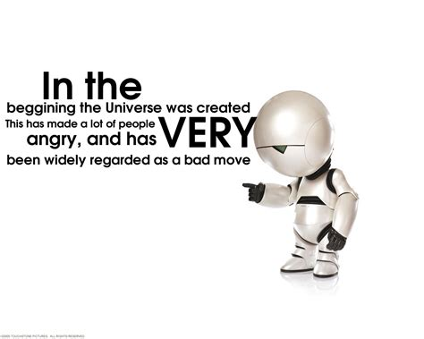 marvin the paranoid android quotes quotes douglas the hitchhikers guide to the galaxy