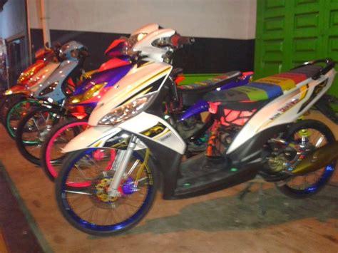 Foto Modifikasi Motor Mio J by 100 Gambar Motor Mio J Keren Terupdate Gubuk Modifikasi