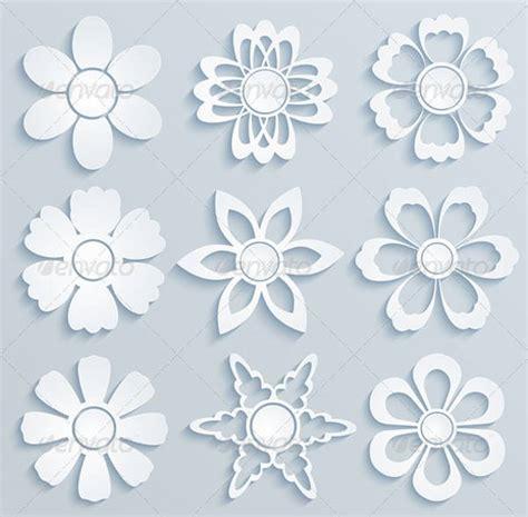 daisy flower templates  psd vector ai eps