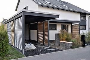 Carport Holz Modern : carport am haus ~ Markanthonyermac.com Haus und Dekorationen