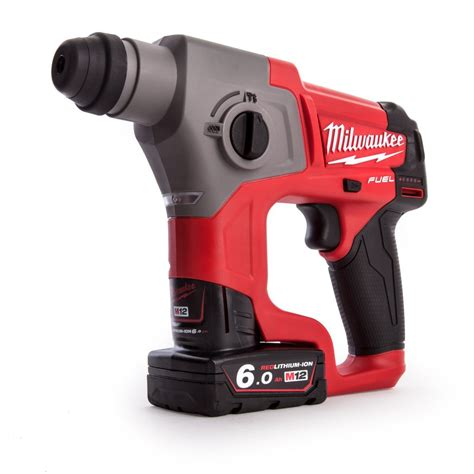 milwaukee mch  fuel sds hammer drill ah toolfixie