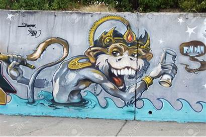 Grafiti Gambar Graffiti Calle Slank Aja Silahkan
