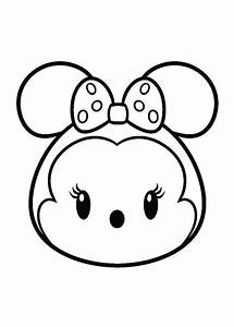 Kids n fun com 27 coloring pages of Tsum tsum