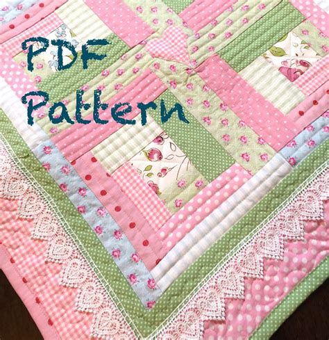 baby quilt patterns chic baby quilt pattern log cabin quilt pattern modern