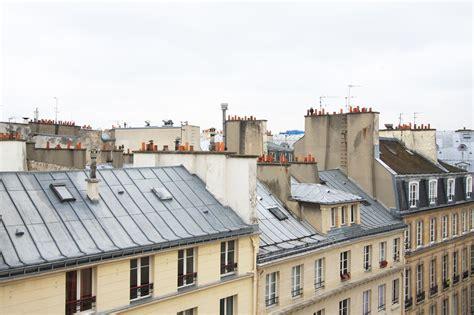 cuisine tomettes 2e appartement rénové avec vue sur les toits de agence ea