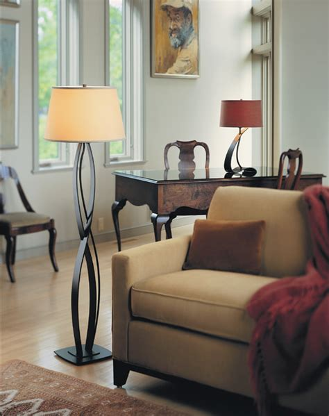 infinity floor lamp  hubbardton forge lighting