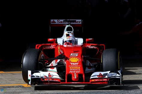 4x f1 world champion @astonmartinf1 the sebastian's fan community. Sebastian Vettel, Ferrari, Circuit de Catalunya, 2016 · F1 Fanatic