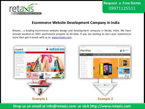 ecommerce website design company ecommerce website development company in india