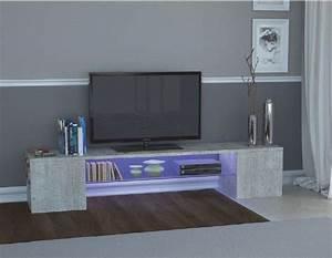 Meuble Tv Effet Beton : meubles tv inside 75 achat vente de meubles tv inside 75 comparez les prix sur ~ Teatrodelosmanantiales.com Idées de Décoration