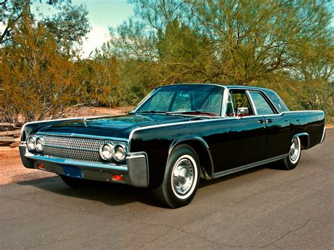 1962 Lincoln Continental - Information and photos - MOMENTcar