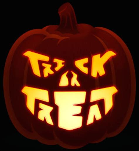 trick or treat pumpkin template cool halloween pumpkin carving ideas the best templates to try for spooky celebrations on