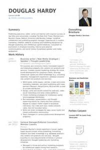 Business Resume Samples Visualcv Resume Samples Database