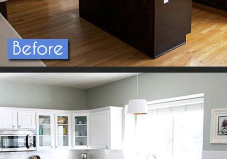 how to construct kitchen cabinets kitchen before after photos 8 amazing makeovers 7224