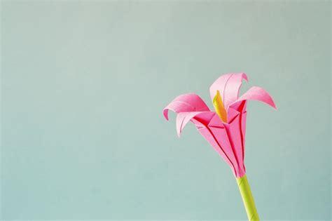 kreasi origami bunga  menakjubkan