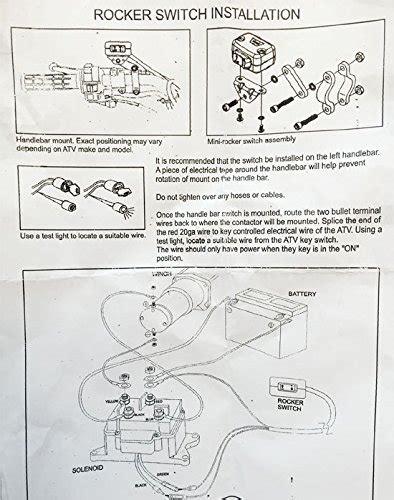 warn atv winch wiring diagram wiring diagram and schematics