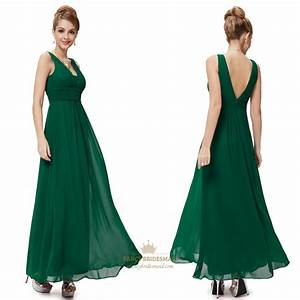 Long emerald green prom dressesemerald green dress for for Long dress wedding guest