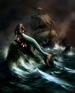 Siren in the Storm | Mermaids | Pinterest