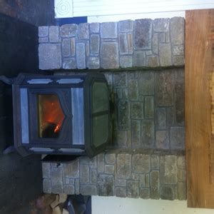 salvage stone fireplacestove recycled reclaimed