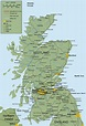 Map of Scotland Country and City