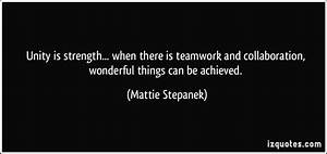 Christian Quote... Strength And Teamwork Quotes
