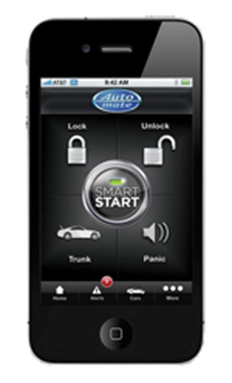 smart start app for android remote starters mobile car pro car accessory installation