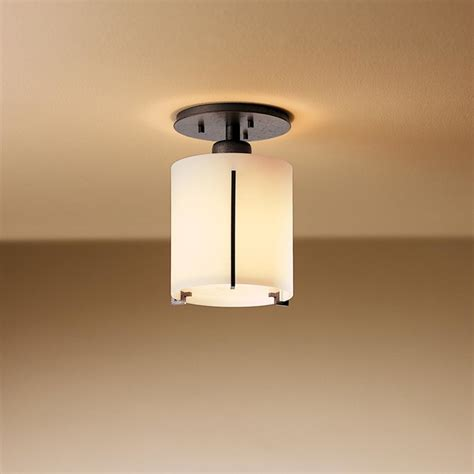 exos semi flush ceiling mount modern flush mount