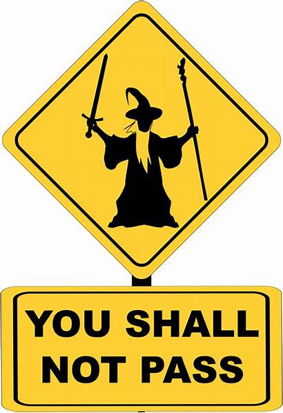 Shall Pass Gandalf Clipart Svg Should Wizard