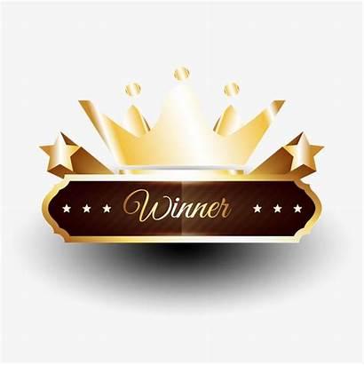 Winner Victory Crown Banner Transparent Decoration Pngio