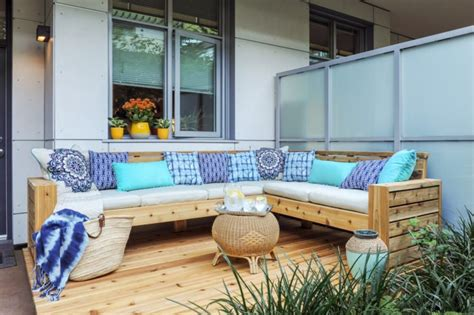 sectional sofa project plans real cedar