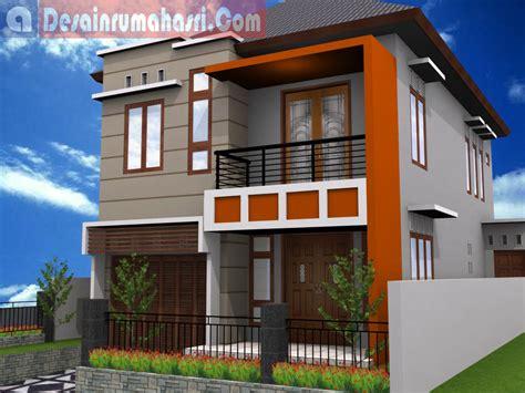 gambar denah rumah leter  desain rumah mesra