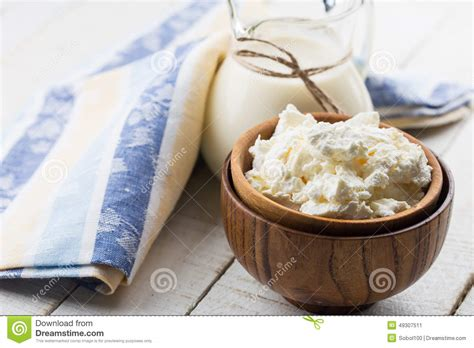 Cottage Cheese Stock Image Image Of Image Products