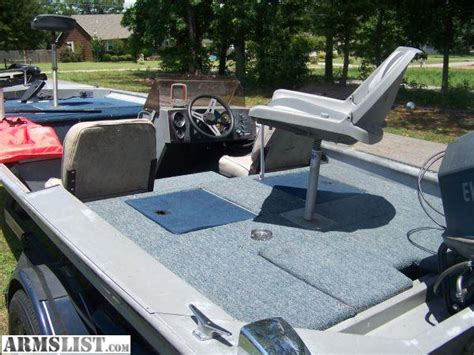 Alumacraft Bass Boat Reviews by Armslist For Sale Crappie Bass Boat Alumacraft