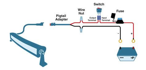 Led Bar Wiring Diagram Schematic