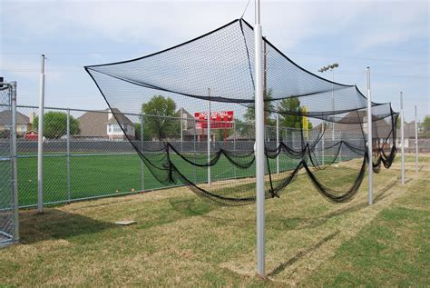 Homemade Backyard Batting Cages  Homemade Ftempo