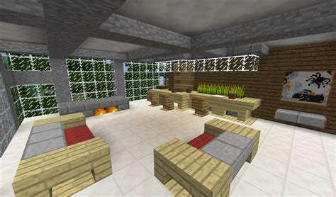 living room minecraft detail modern living room with couches bar and