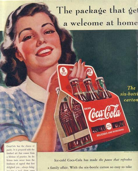 Vintage Coke Ad Saturday Evening Post