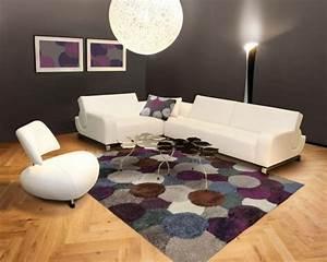 tapis shaggy style et confort dans espace maison 23 photos With tapis shaggy avec menzzo canapé chesterfield